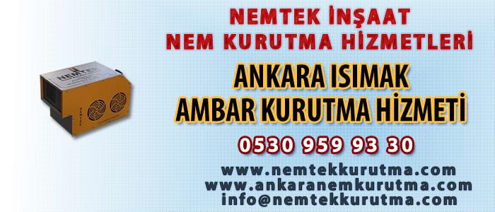 Ankara Isımak Ambar Kurutma Hizmeti