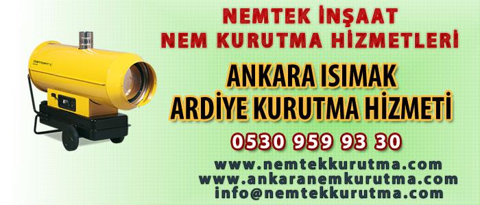 Ankara Isımak Ardiye Kurutma Hizmeti