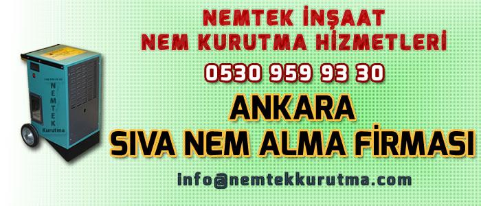 Ankara Sıva Nem Alma Firması