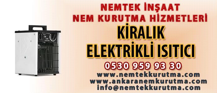 Kiralık Elektrikli Isıtıcı