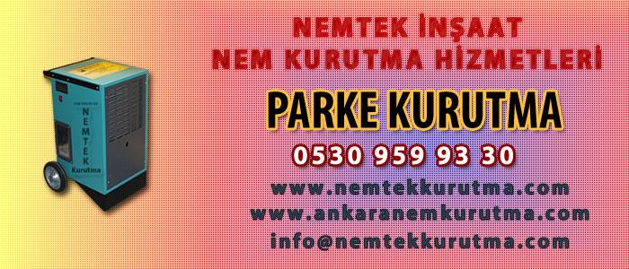 Parke Kurutma