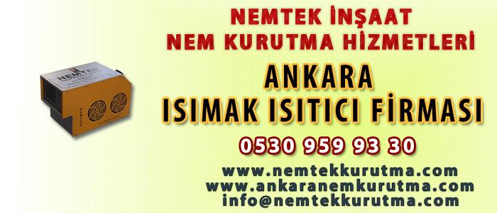 Ankara Isımak Isıtıcı Firması