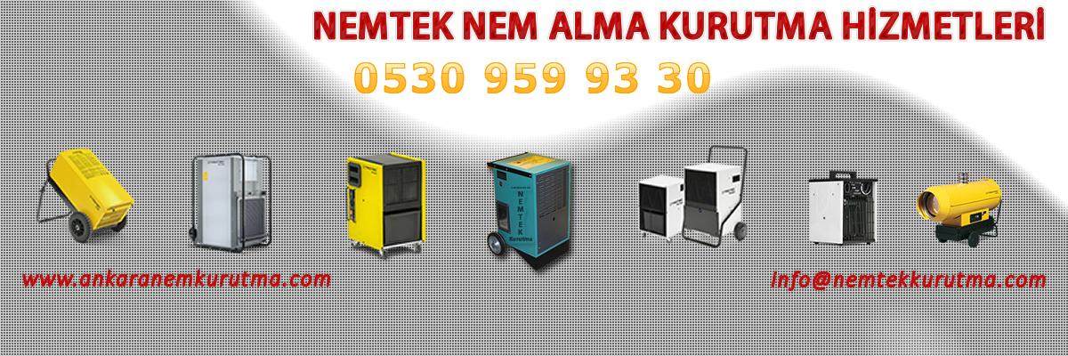 Ankara Nem Alma Kurutma Firması