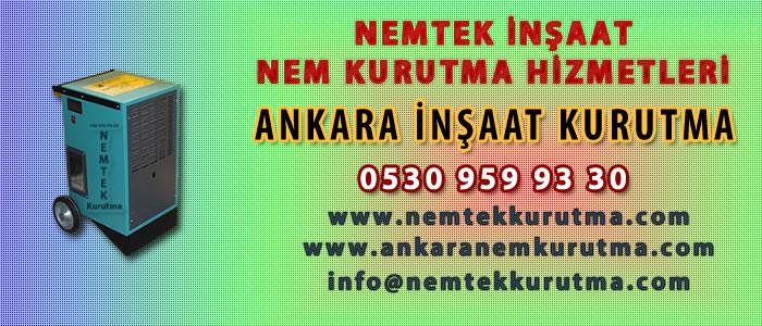 Ankara İnşaat Kurutma