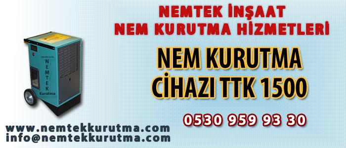 Nem Kurutma Cihazı TTK 1500