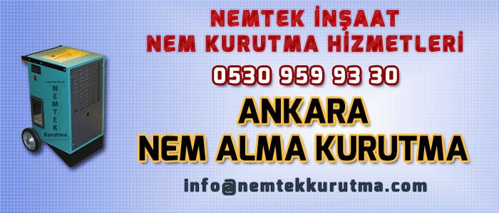 Ankara Nem Alma Kurutma
